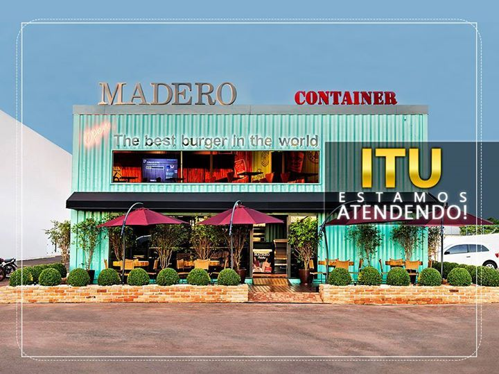 O Madero Container chegou a ITU!      Estamos no Road Shopping (Castelo Branco)…