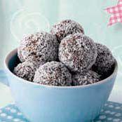 Chocolate meteoroids