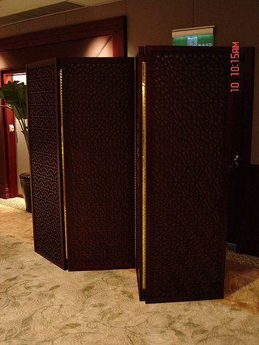 Shangri-La's Far Eastern Plaza Hotel, Wooden Screen by Favrile