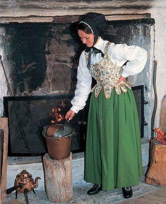 Kvinnebunad fra Solør-Odal