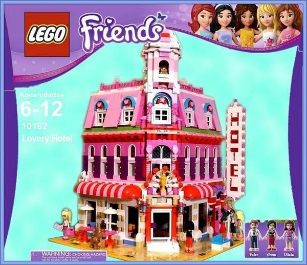 Lego Friends Hotel | New Calendar Template Site
