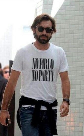 Andrea Pirlo - one of the most effortlessly brilliant footballers of all time.