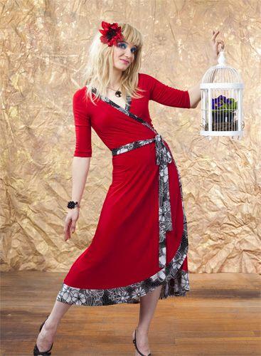 Meredith Wrap Dress