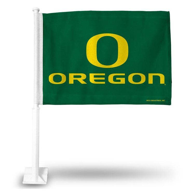 Rico Car Flag - NCAA University of Oregon