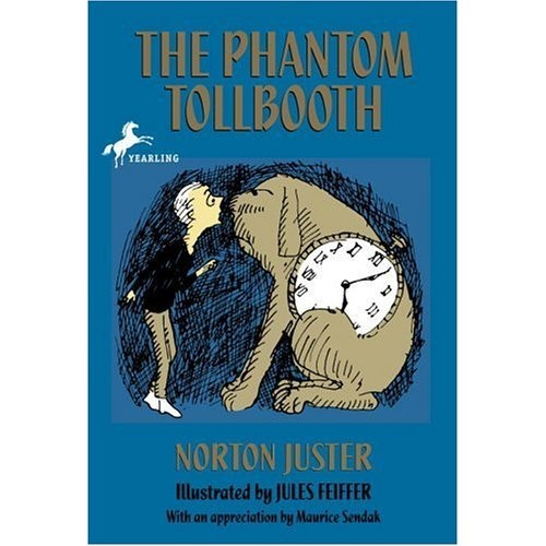 """""""The Phantom Tollbooth"""" - I loved this book as a kid! I think it's time for a re-read ASAP :)"""