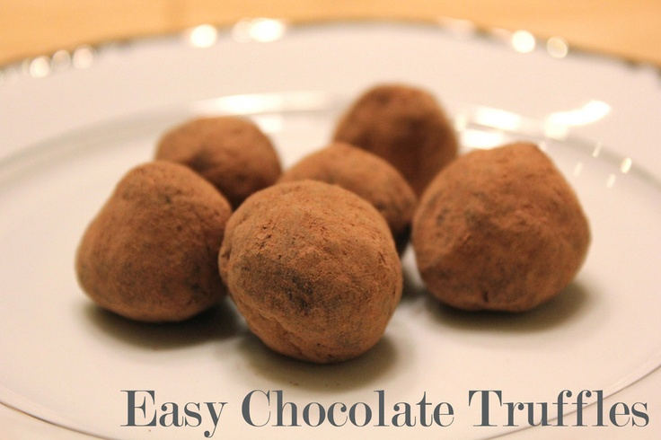 ... Latest On | Easy Chocolate Truffles, Chocolate Truffles and Truffles