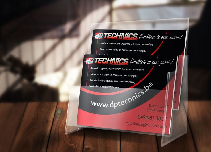 Flyers for a local business. http://www.dptechnics.be