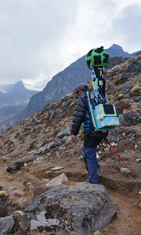 Last March and April, shortly before the avalanche that claimed the lives of 16 high-altitude workers on Mount Everest, a team from Google was trekking around Nepal's Khumbu region in hopes of making the most detailed map of the area to date. The group included tK engineers and international development specialists, and was led on the ground by Apa Sherpa, the legendary mountaineer who's summitted Everest 21 times.