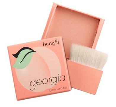 So I don't believe in brand loyalty but I do believe in product loyalty and I love this peachy blush. It works well for my very pale complexion. Also I do love a lot of benefit cosmetics products.