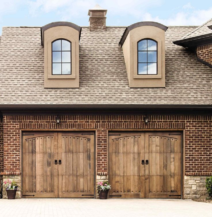 20 best images about custom wood garage doors on pinterest for Best wood for garage doors