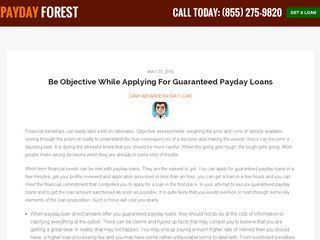 Three Reasons To Opt For Paycheck Loans - https://paydayforest.com/blog/three-reasons-to-opt-for-paycheck-loans/
