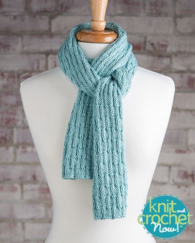 Knitted Scarf Pattern Books : 21 best images about Season 5 Free Knitting Patterns (Knit and Crochet Now!) ...