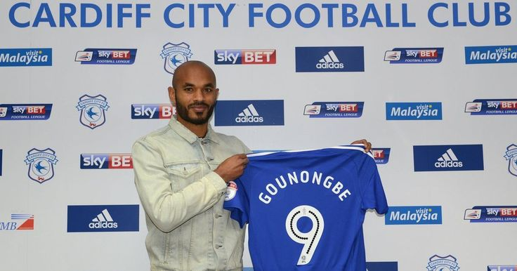 Frederic Gounongbe is welcomed to Cardiff City FC!