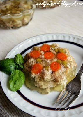 mój zbiór przepisów kulinarnych-  wyszukane w sieci: Nóżki wieprzowe w galarecie