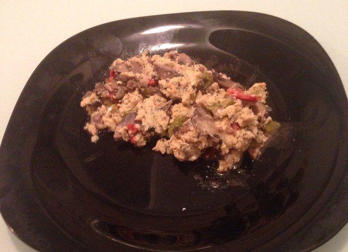 Revuelto de champiñones con carne picada para #Mycook http://www.mycook.es/cocina/receta/revuelto-de-champinones-con-carne-picada