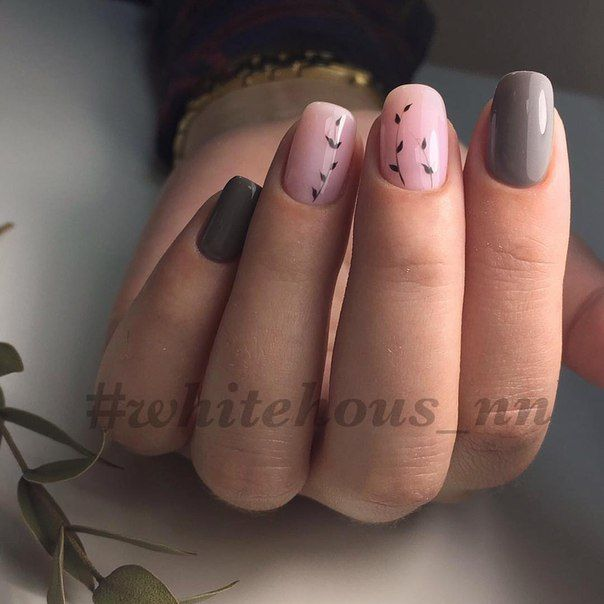 Beautiful combination for nail art.