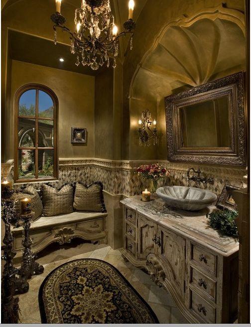 Victorian Bathroom.