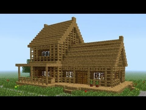 MINECRAFT: How to build little wooden house #2
