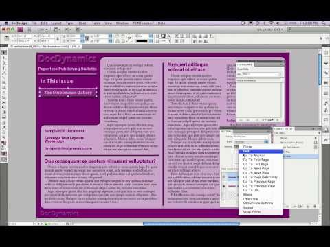 12 best indesign images on pinterest adobe indesign infographic introduction interactive pdfs from indesign cs6 thru cs4 fandeluxe Image collections
