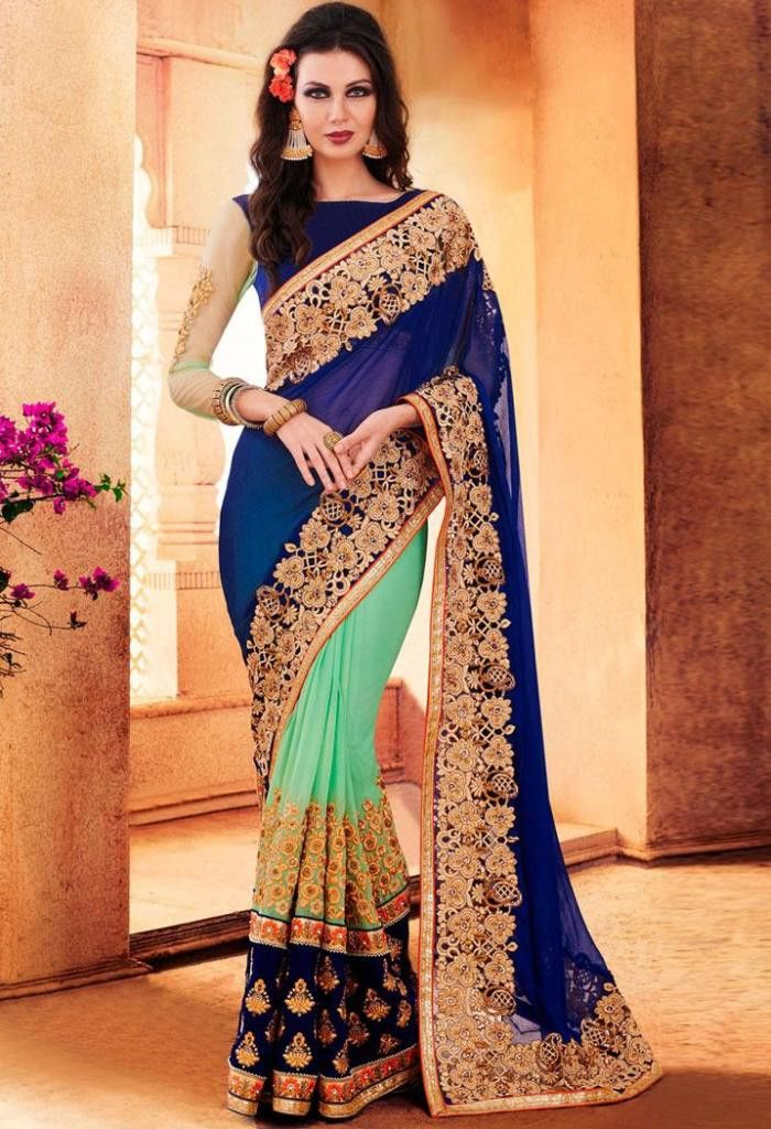 Product Code 41995 Weight 2 KG Delivery Days 20 Days Fabric Georgette Blouse Fabric Banglori Silk Occasion Traditional, Party Wear Work Embroidered PLEASE NOTE due to various types of lightings & flas