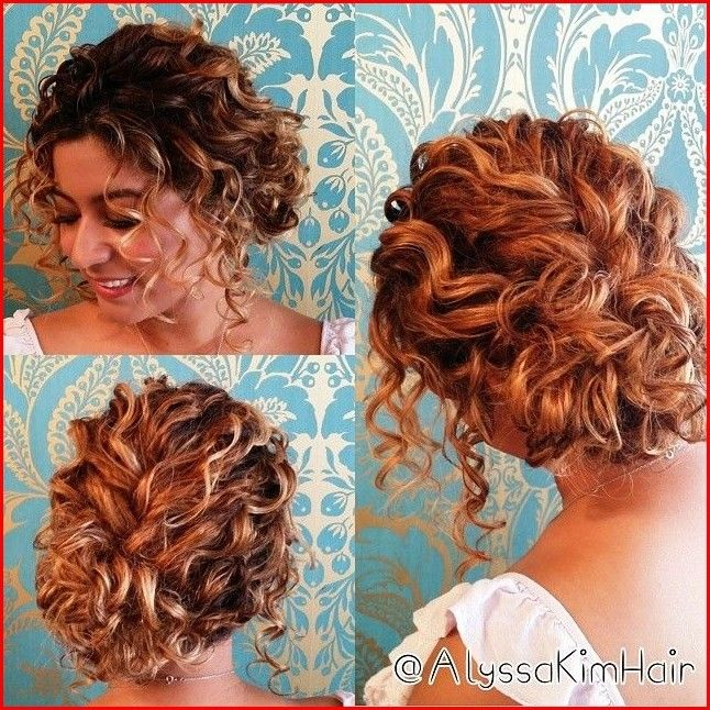 Prom Hairstyles For Curly Hair Curly Hair Up Short Wedding Hair Short Hair Updo