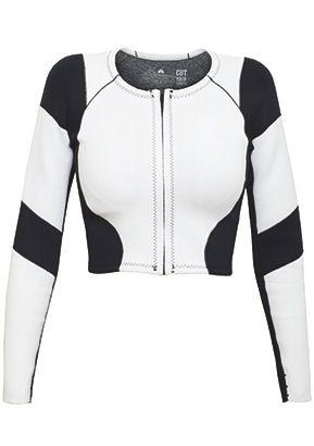 CETUS BIARRITZ APOLLO Neoprene 1mm Yamamoto limestone neoprene / jacket / wetsuit / black & white / surf  / graphic