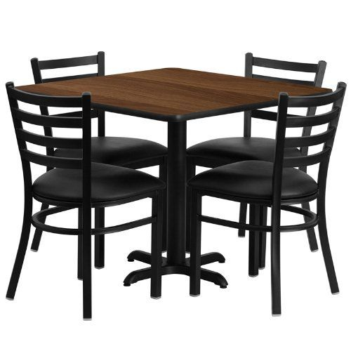 gg baxton studio 5 piece modern dining set 2. no need to buy in pieces, this complete banquet table and chair set will save you time! includes an elegant natural laminate top, gg baxton studio 5 piece modern dining 2 r