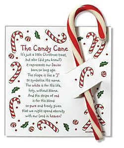 Candy cane tags plus other uses for candy canes
