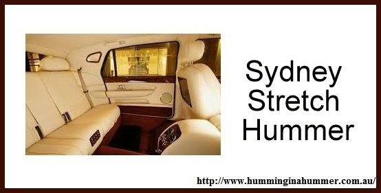 Sydney's No-1 Stretch Hummer Limo for your Events