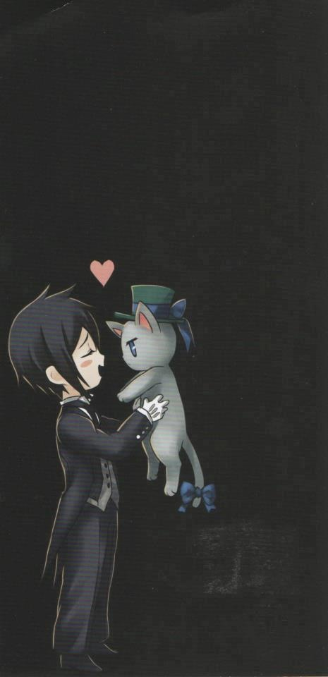 Sebastian loves cats:3