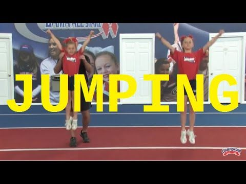 Teach Youth Cheerleaders Jumping Technique! - YouTube