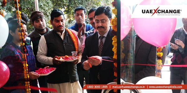 #UAEExchangeIndia Inaugurates Agra Branch at New Premise