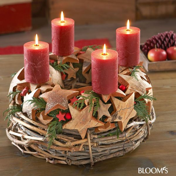 Advent Wreath Idea
