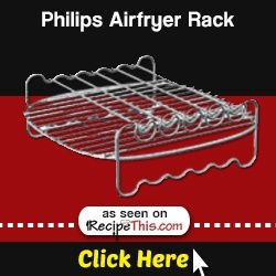 Marketplace | Philips Airfryer Accessories – Philips Airfryer baking shelf from RecipeThis.com