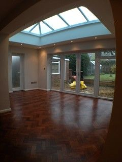 Loft Conversion On A Semidetached Bungalow Contemporary