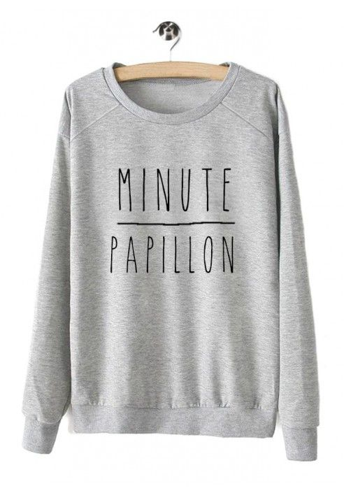 "Sweat ""Minute Papillon"""