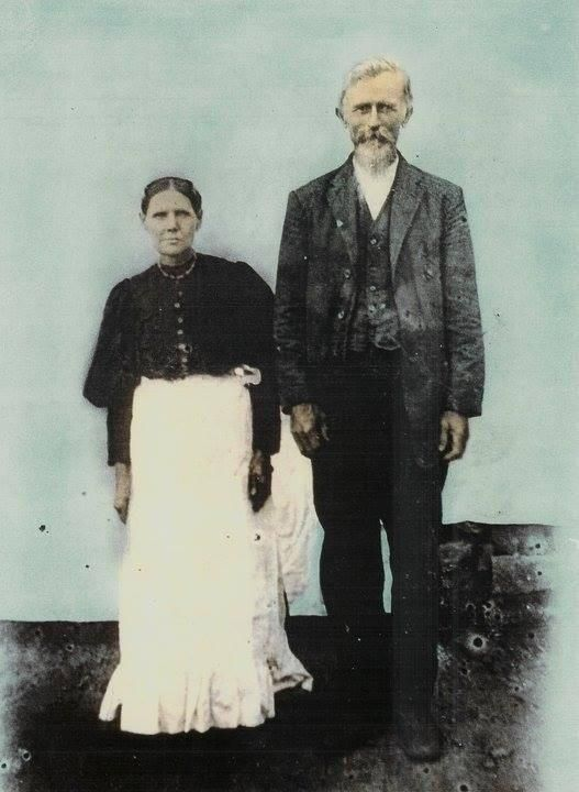 Lucretia and Thomas Smith of Clay County Kentucky. They were married in 1882 unsure what year this photo was taken. Hey are my Great Great Grandparents. http://ift.tt/2zAiAGq