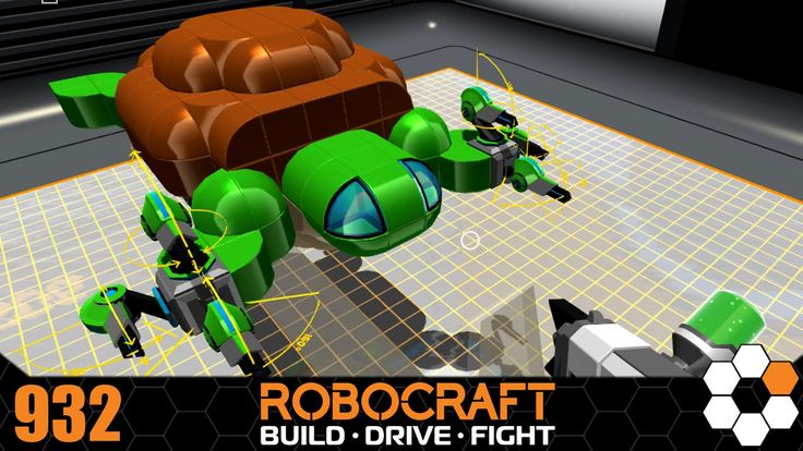 Robocraft - Turtle Gunslinger Build