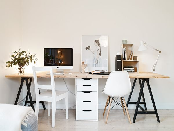 50 Most Beautiful Nordic-Style Workspaces: sharing once the boys get older