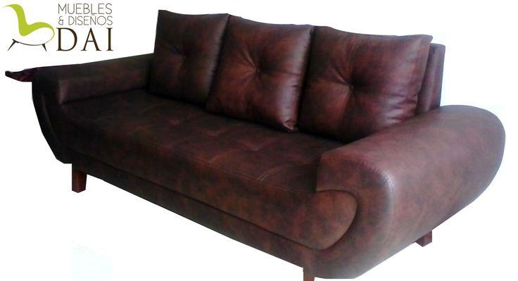 Sofa Caracol de 3 puestos, medidas 2.04 * 0.82 $ 1.359.000
