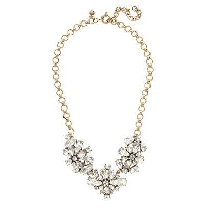 J.Crew - Crystal wildflowers necklace