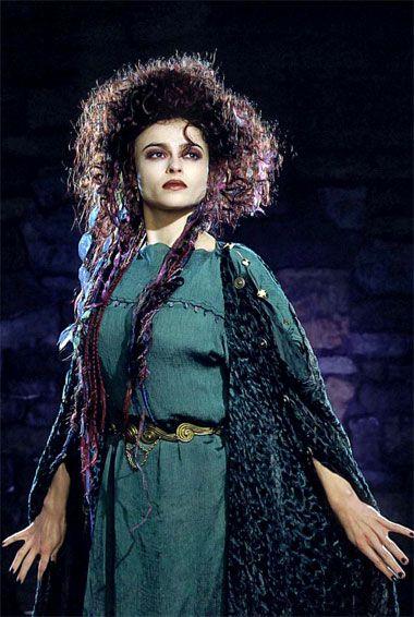 """Helena Bonham Carter - """"Merlin"""" (TV 1998) - Costume designer : Ann Hollowood"""
