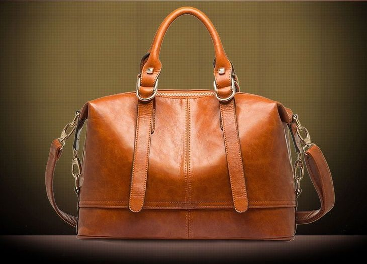 Hot Oil Wax Leather Women Handbag Fashion Shoulder Bags Bolsas Femininas Desigual Women Messenger Bags New Genuine Leather Tote