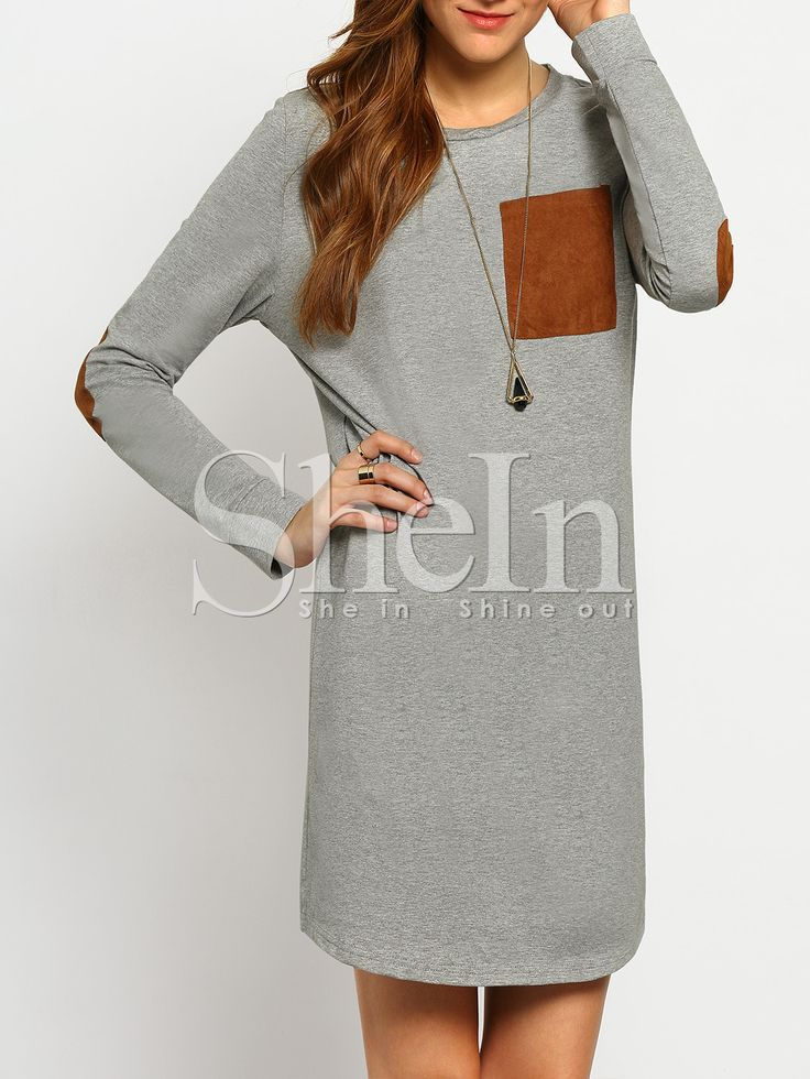 Shop Grey Long Sleeve Casual Dress online. SheIn offers Grey Long Sleeve Casual Dress & more to fit your fashionable needs.