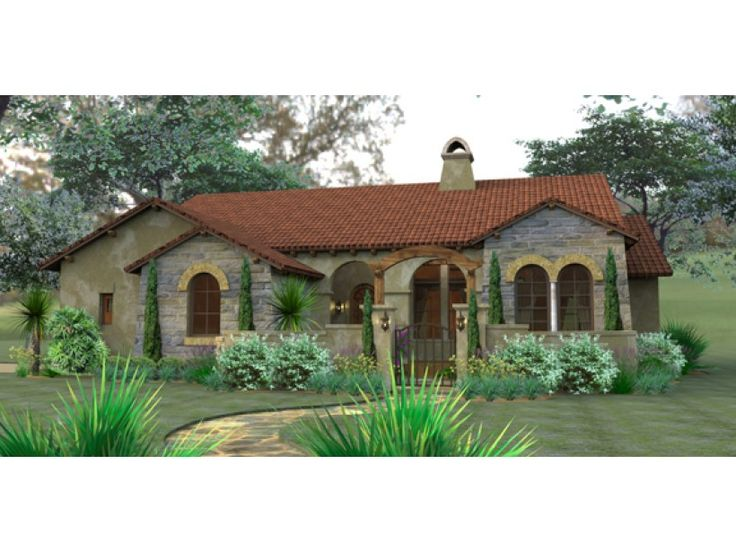 Best 25 small mediterranean homes ideas on pinterest for Mediterranean style house floor plans