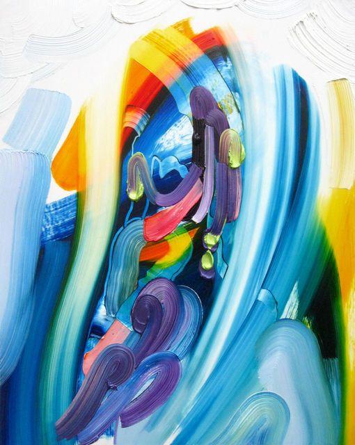 ERIN LOREE Mermaid, 2014 oil on mylar mounted on panel 20 × 16 in 50.8 × 40.6 cm