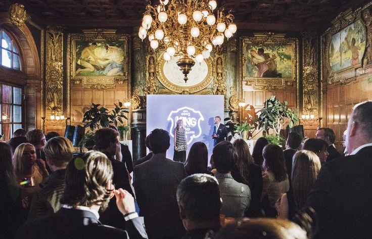 KING - Svenskt Herrmodes 100 Mäktigaste 2016 / Event Production & Design: No Ordinary 12