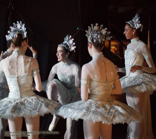 The Nutcracker! Go see it: National Ballet Toronto (it doesn't disappoint!)