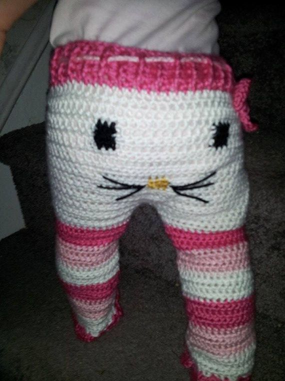 Crochet Baby Monster Pants Pattern Free : Crocheted pants, sock monkey, cat and monsters Cats ...