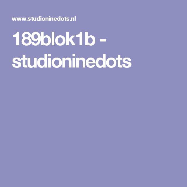 189blok1b - studioninedots